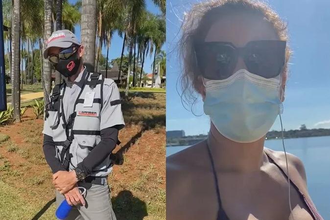 Parque se recusa a pedir desculpas a mulher alvo de machismo de segurança por usar biquíni