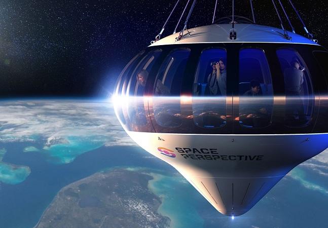 Empresa americana cobra R$ 630 mil por passeio de balão de 6 horas no espaço