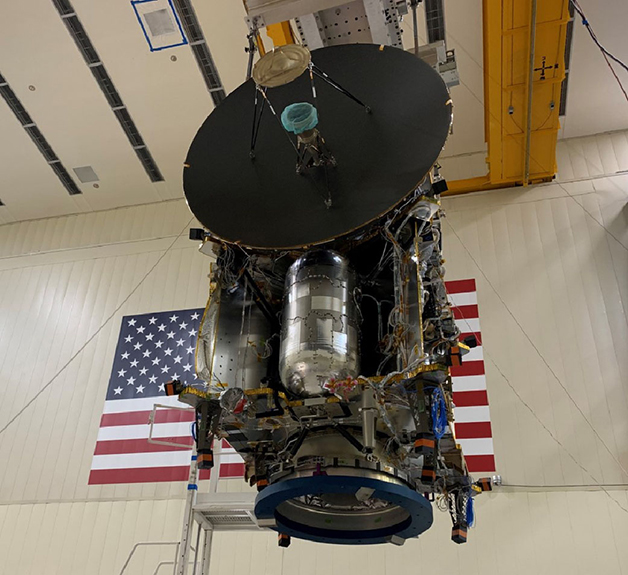 A aeronave da missão Lucy