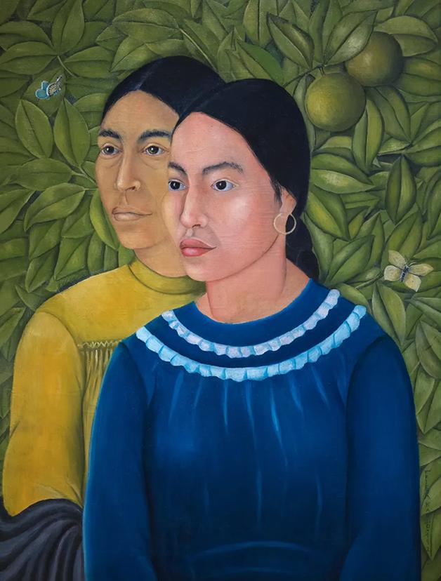 Dos Mujeres (Retrato de Salvadora e Herminia), de 1928