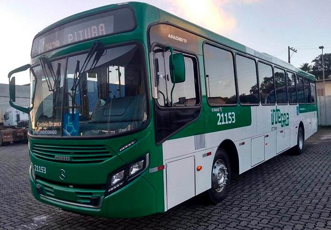 Ônibus de Salvador circulam com filtro contra covid em veículos com ar-condicionado