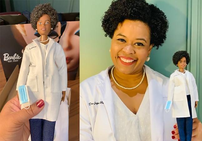 Barbie cria boneca de biomédica brasileira que ajudou a decifrar DNA do coronavírus