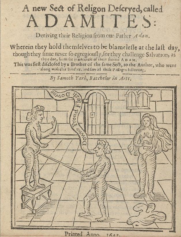 Panfleto inglês sobre os neo-andamitas no século XVII