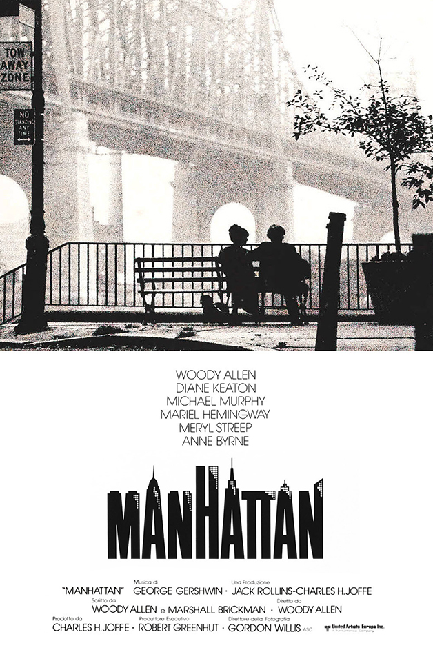 """O lindo cartaz do filme """"Manhattan"""", de Woody Allen"""