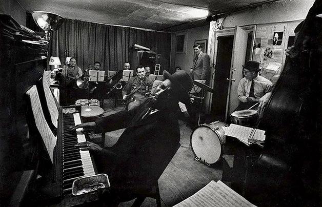 Thelonious em ação em um loft em 1959