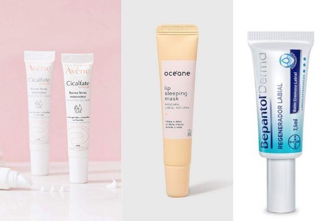 Hidratantes, esfoliantes e mais para você proteger os lábios do frio