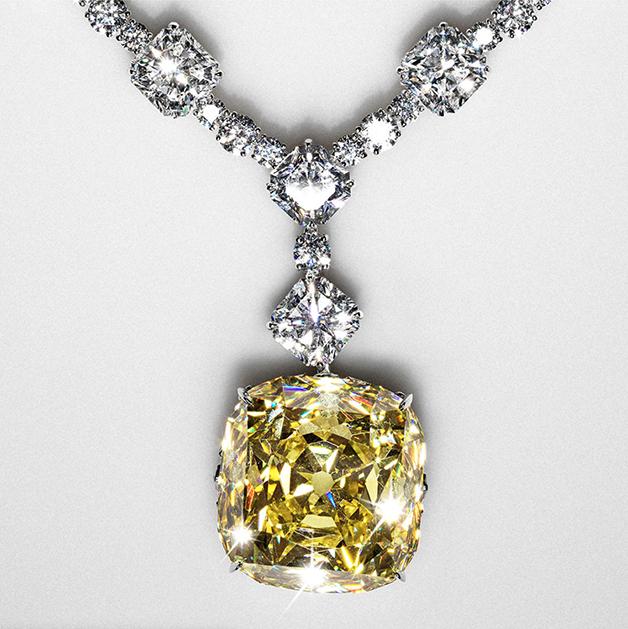 Diamante Amarelo da Tiffany
