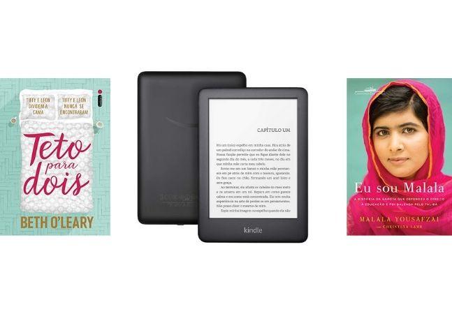 Book Friday: Kindle e eBooks com até 70% de desconto