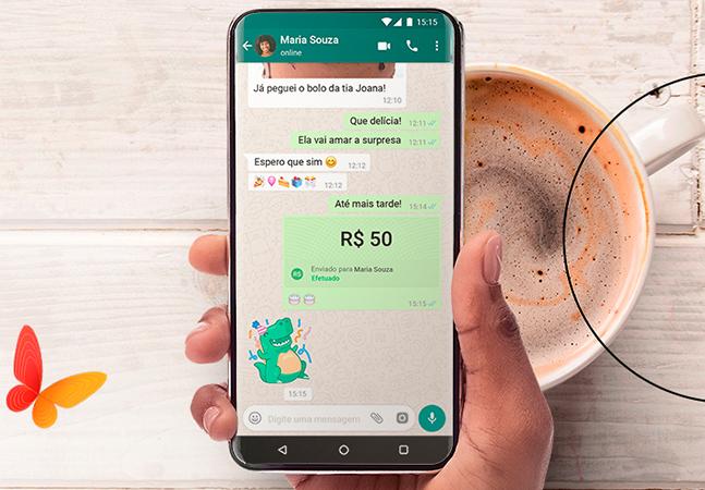 Whatsapp aposta em tecnologia de cartões para transferir dinheiro em tempo real