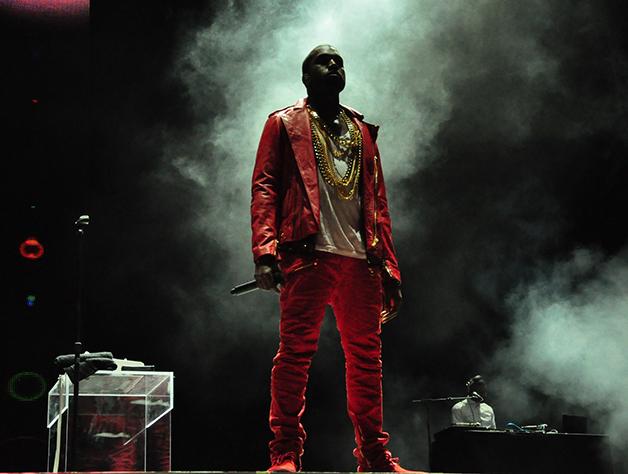 Kanye West em show no Chile em 2011