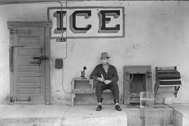 entregador de gelo