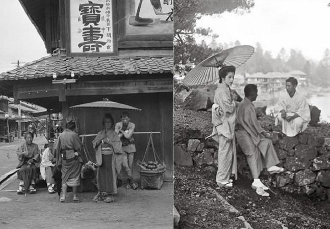 Imagens poderosas mostram como era o Japão antes das guerras mundiais