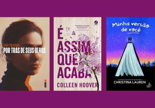 Lista de desejos: romances literários com até 56% de desconto na Book Friday
