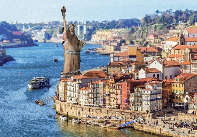 E se essas 7 maravilhas do mundo estivessem em Portugal?