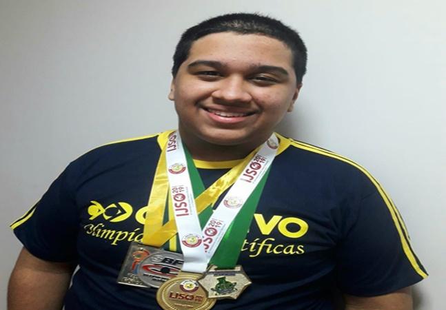 Medalha de ouro em Olimpíada Internacional de Física é de brasileiro de 17 anos