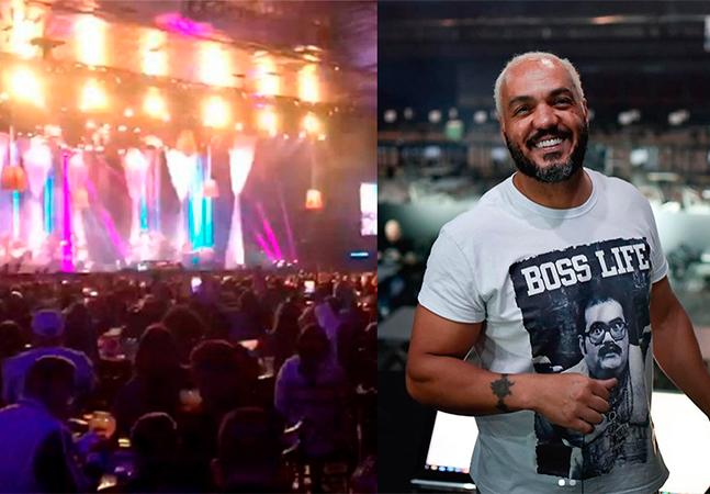 Belo faz show para 1.500 pessoas e Espaço das Américas é autuado em SP