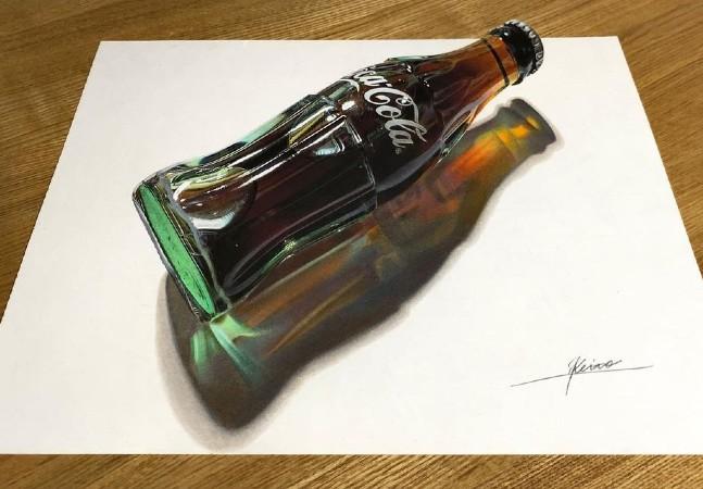 Artista de 18 anos desenha as ilusões de ótica mais inacreditáveis que você já viu