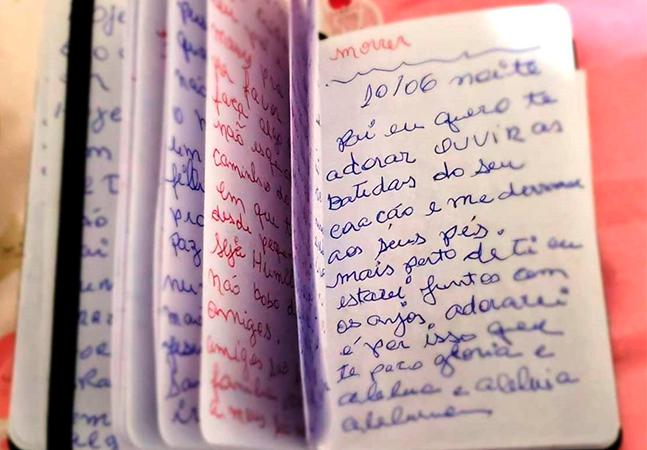 Filha sonha com a mãe morta vítima de covid e encontra diário escrito por ela durante internação