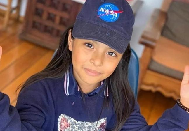 Menina de 9 anos com QI maior que Albert Einstein e Stephen Hawking quer ser astronauta