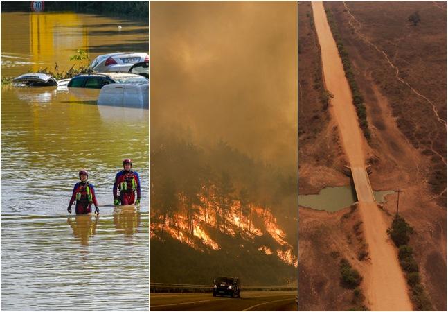Eventos extremos, frio e calor excessivos são fruto da crise climática e devem piorar