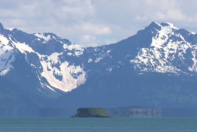 "A ""Fata Morgana"" registrada recentemente no Alasca"