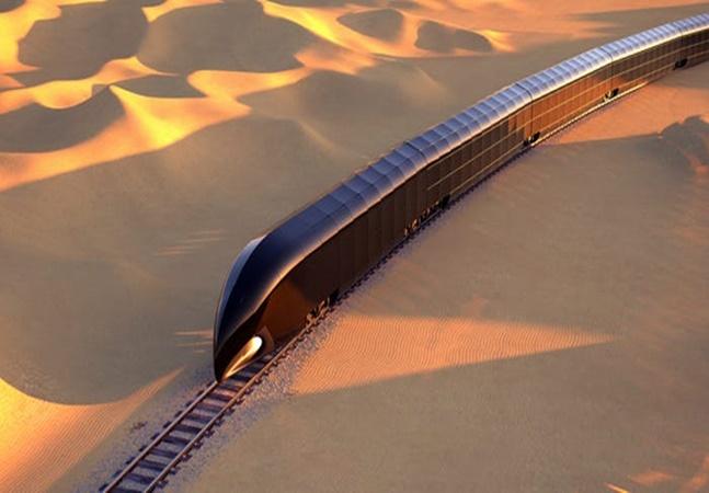 Designer de Steve Jobs cria trem de luxo que pode custar mais de 300 mi de dólares