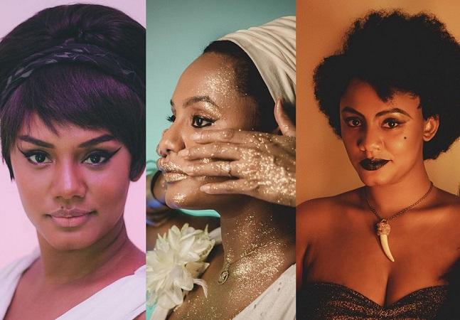 Jéssica Ellen homenageia ícones negros da cultura brasileira em ensaio
