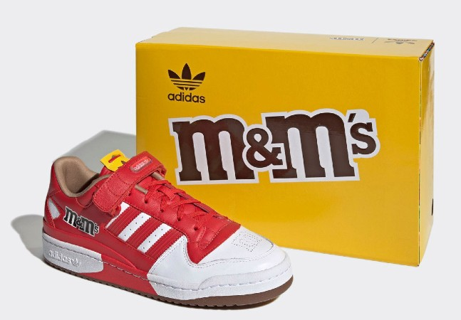 M&M's fecha parceria com Adidas e o resultado são tênis incríveis