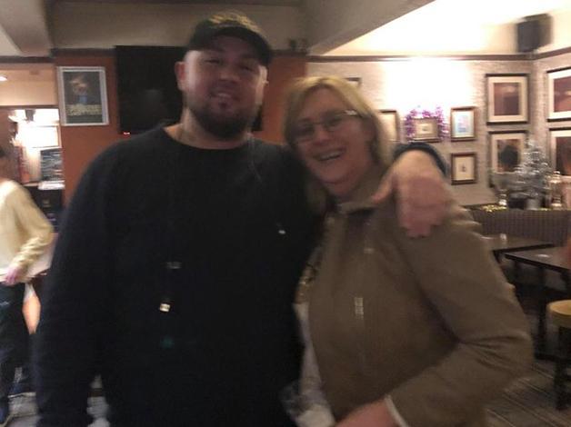 Matthew Keenan e sua mãe