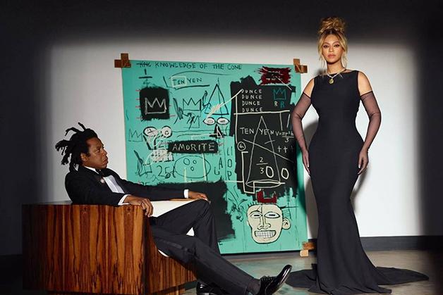 Beyoncé e Jay-Z em campanha para a Tiffany
