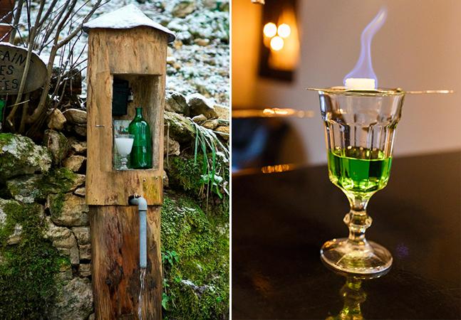 'Rota do Absinto' esconde garrafas da bebida em floresta suíça