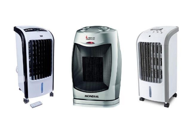 Aquecedores e climatizador para ter mais conforto em casa em qualquer estação