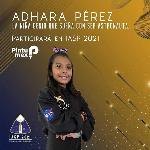 Adhara Pérez na IASP