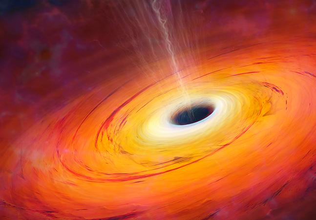 Teoria de Einstein é confirmada por cientistas que observaram luz atrás de buraco negro