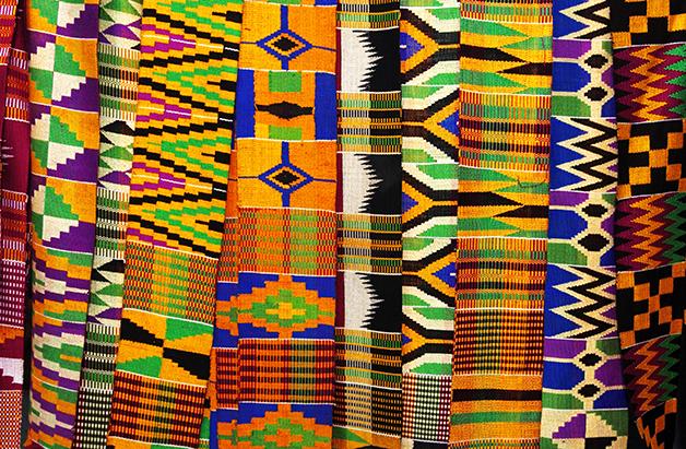 Os tecidos Kente, em Gana, são feitos a partir da Sequência de Fibonacci