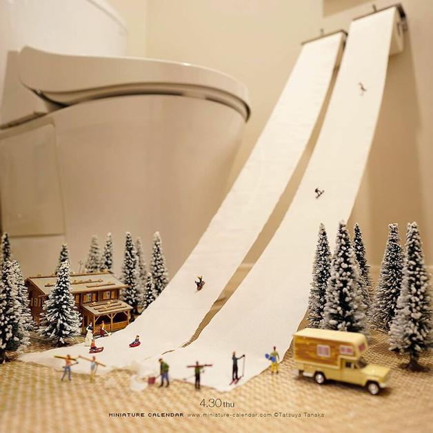 Diorama de Tatsuya Tanaka