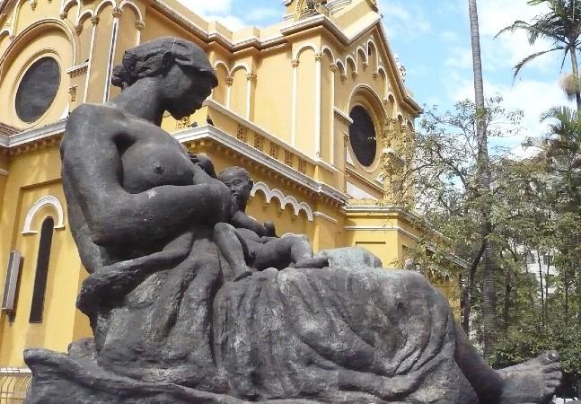 Roteiro de estátuas e monumentos sobre ícones da cultura negra em São Paulo