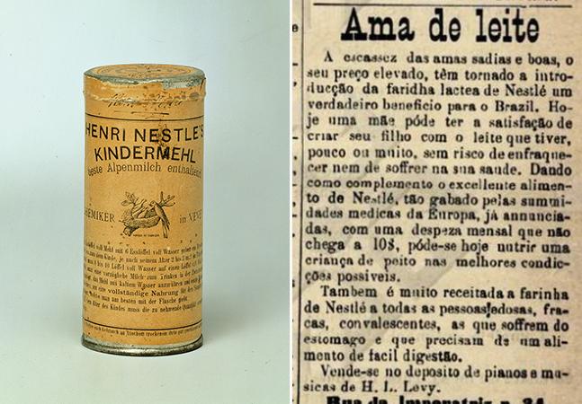 Artigo revela o racismo das propagandas de farinha láctea no Brasil do século 19
