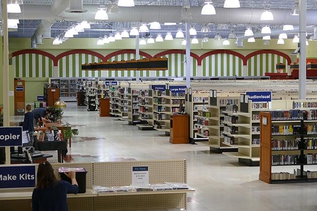 A Biblioteca Pública de Carmel Clay