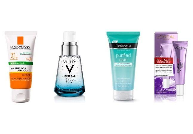 Os principais produtos vendidos na Amazon para cuidar e proteger a sua pele