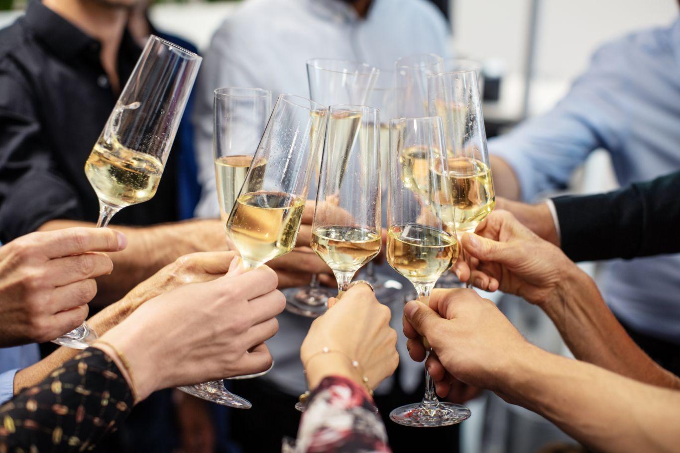 champanhe história invenção champagne
