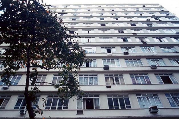 O Edifício Master visto de fora