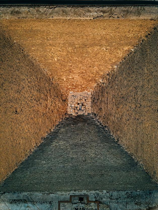 Pirâmide de Gizé por Alexander Ladanivskyy