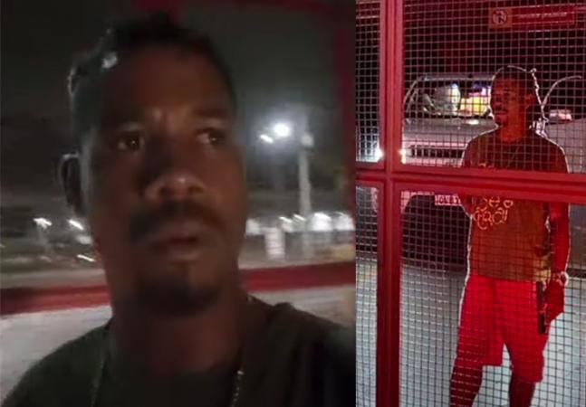 Homem trancado sozinho em supermercado na Bahia após compras relata drama: 'Medo'