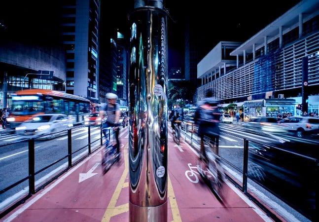 Como é passar uma semana usando bicicleta como meio de transporte em São Paulo