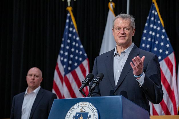 Charlie Baker, governador do estado de Massachusetts