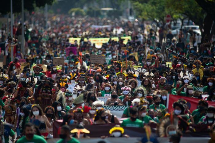 manifestação indígenas