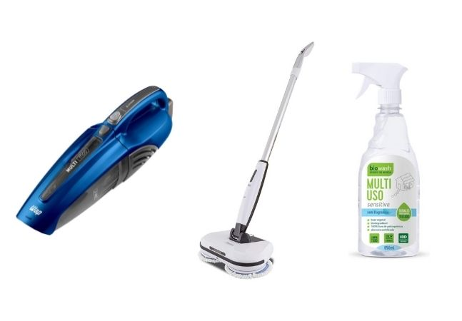 Os produtos que vão levar a sua faxina para outro nível de limpeza