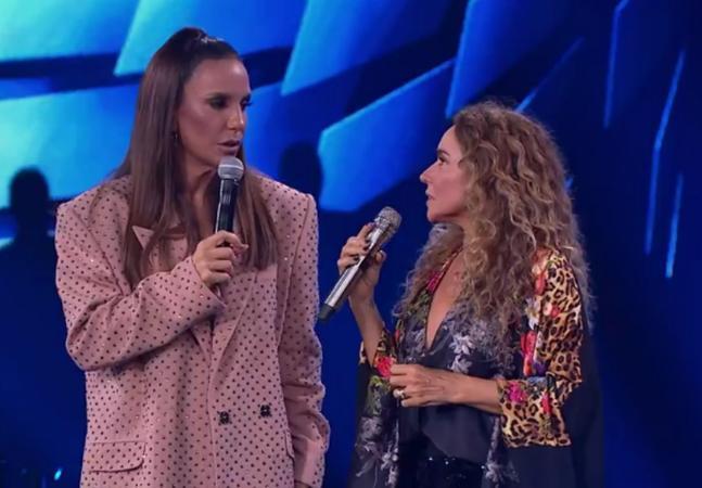 Daniela Mercury defende democracia e viraliza por suposto constrangimento de Ivete Sangalo