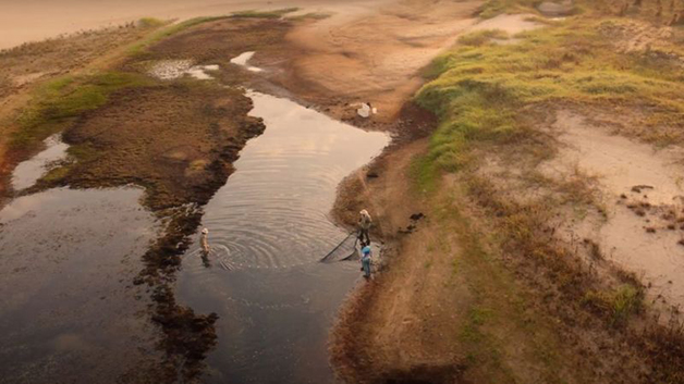 Rio Paraná seco